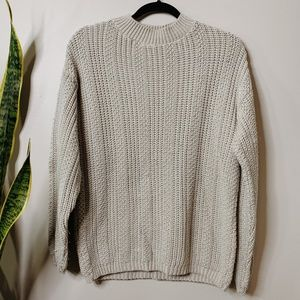 • VINTAGE • Bobbie brooks tan knit sweater